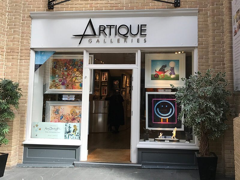 Artique Galleries, Whitefriars, Canterbury