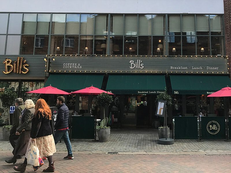 Bill's, Whitefriars, Canterbury