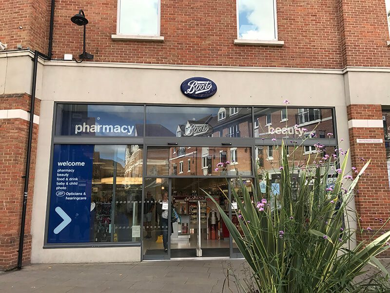 Boots, Whitefriars, Canterbury