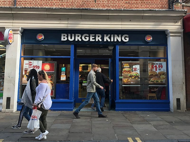 Burger King, Whitefriars, Canterbury