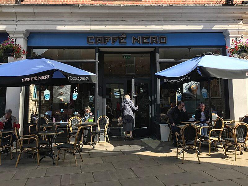Caffe Nero, Whitefriars, Canterbury