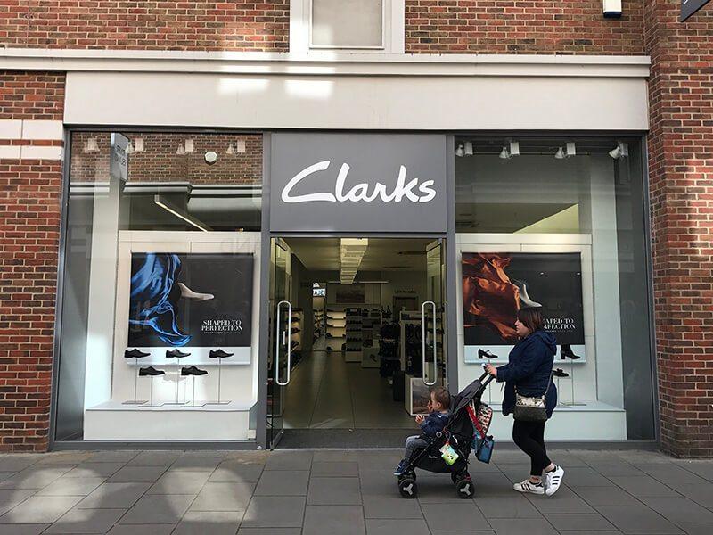 Clarks, Whitefriars, Canterbury