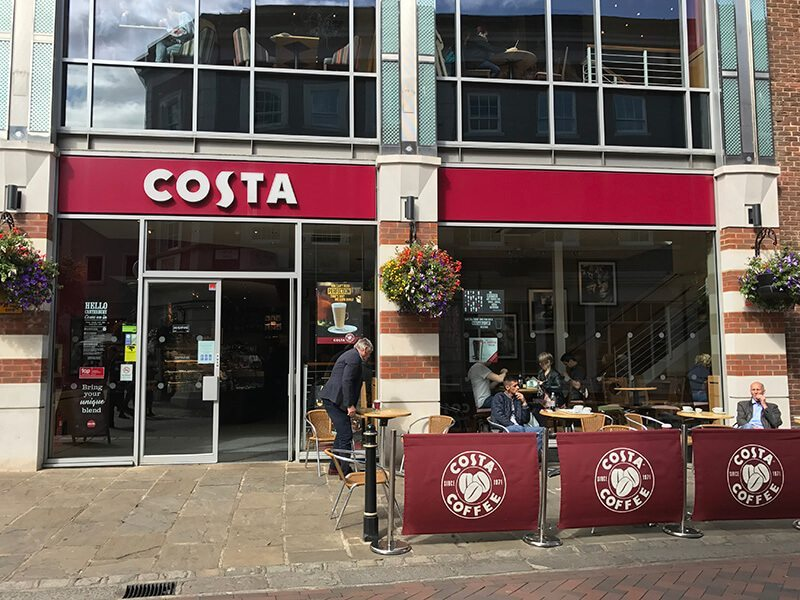 Costa, Whitefriars, Canterbury