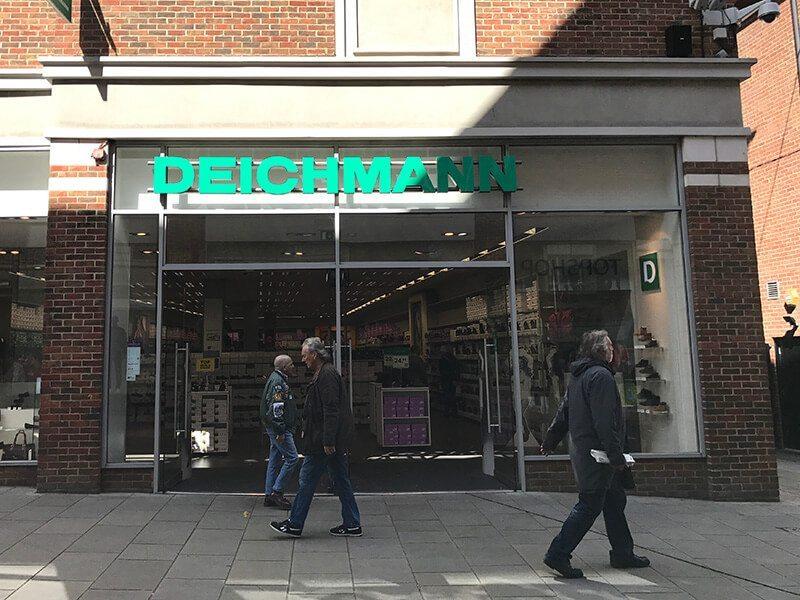 Deichmann, Whitefriars, Canterbury