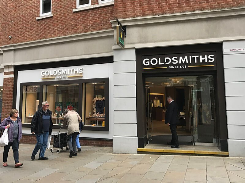 Goldsmiths, Whitefriars, Canterbury
