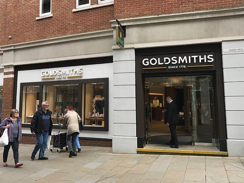 Goldsmiths, Whitefriars, Canterbury