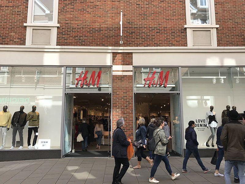 H&M, Whitefriars, Canterbury