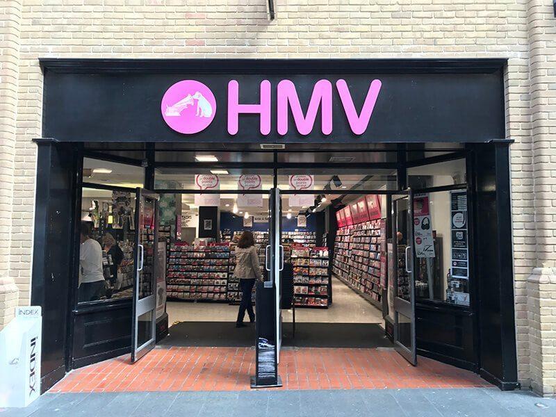 HMV, Whitefriars, Canterbury