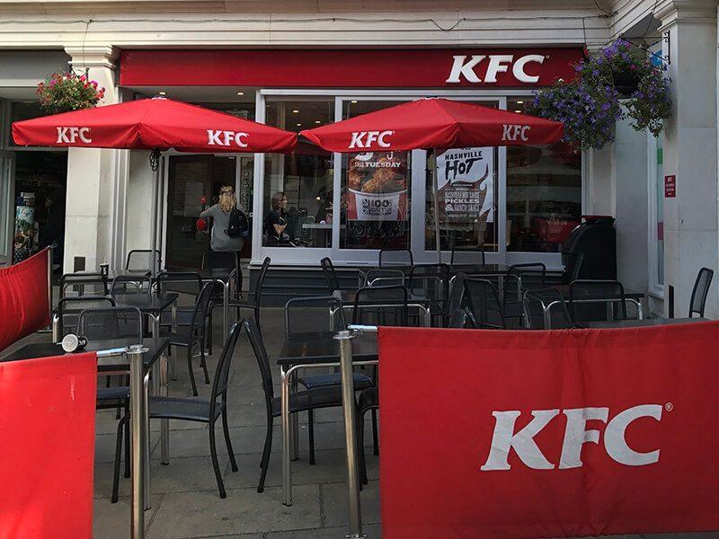 KFC, Whitefriars, Canterbury