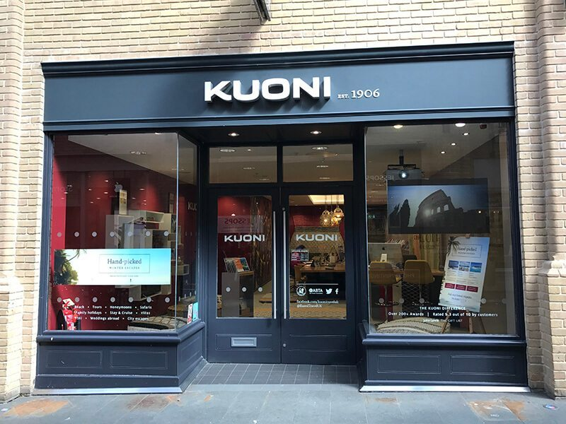 Kuoni, Whitefriars, Canterbury