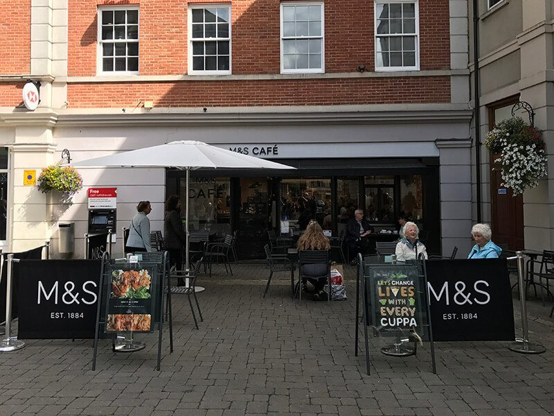 M&S Cafe, Whitefriars, Canterbury
