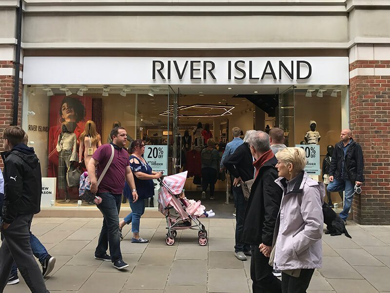 River Island Canterbury Opening Times