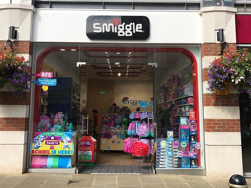 Smiggle, Whitefriars, Canterbury