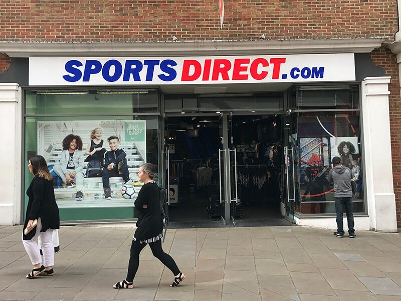 SportsDirect, Whitefriars, Canterbury