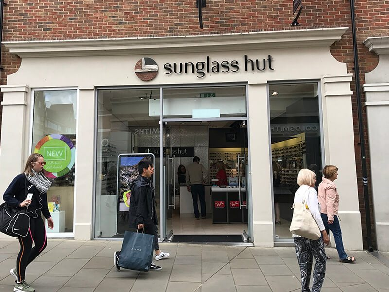 Sunglass Hut, Whitefriars, Canterbury