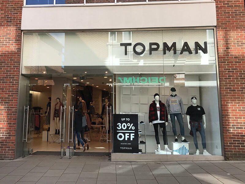 Topman, Whitefriars, Canterbury