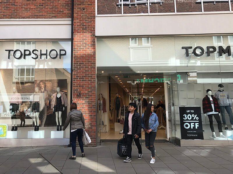 Topshop, Whitefriars, Canterbury